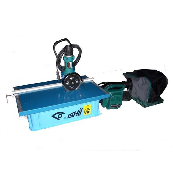 【廃番】セラスーパードライ11 SSD-400-11W(集塵機付) 電動切断機 【石井超硬工具製作所】≪代引き不可・返品不可≫