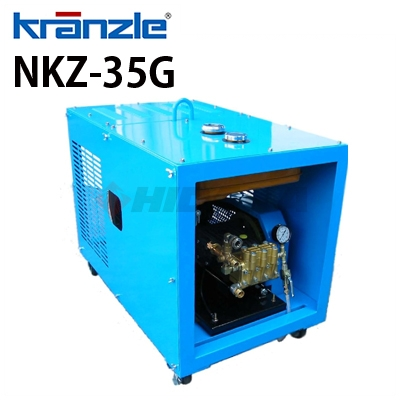 クランツレ 業務用 エンジン式冷水高圧洗浄機 NKZ-35G ≪代引き不可・メーカー直送≫