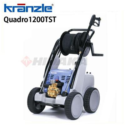 クランツレ 業務用 200V冷水高圧洗浄機 Quadro1200TST 周波数50Hz 東日本用 (quadro1200tst) ≪代引き不可・メーカー直送≫