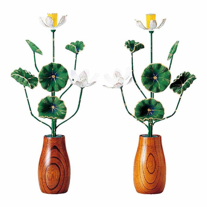 おすすめ 豪華な7本立の彩色で色鮮やかな小常花 木製彩色 小常花 商品 7本立 サイズ:小 1対 高さ:18.0cm