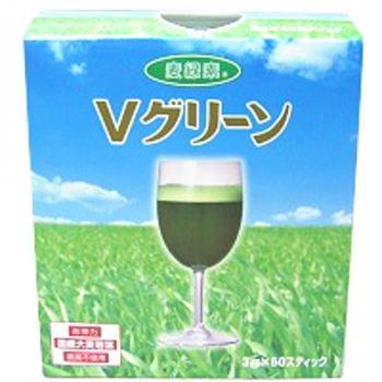 大麦若葉青汁 Vグリーン 60スティック 2個セット