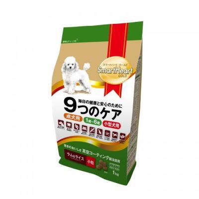 スマートハートゴールド ラム&ライス(1kg・小粒)12個セット【送料無料】SHG・ドックフード