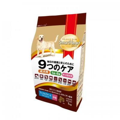 スマートハートゴールド フィット&ファーム チキン&ライス(1kg・中粒)12個セット【送料無料】SHG・ドックフード