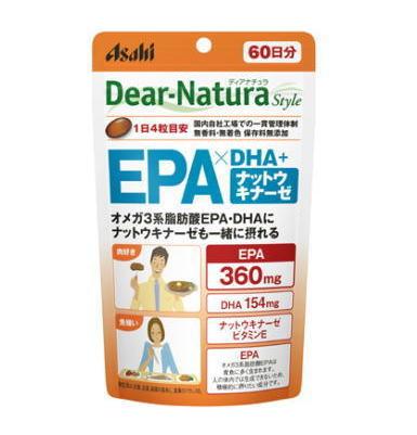 ディアナチュラ EPA×DHA+ナットウキナーゼ 240粒(60日分)6個セット【送料無料】アサヒ