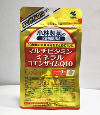 小林製薬 マルチビタミン ミネラル コエンザイムQ10 120粒 10個セット