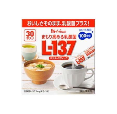 ハウスウェルネスフーズ まもり高める乳酸菌L-137 パウダースティック(30本×24個セット)【送料無料】