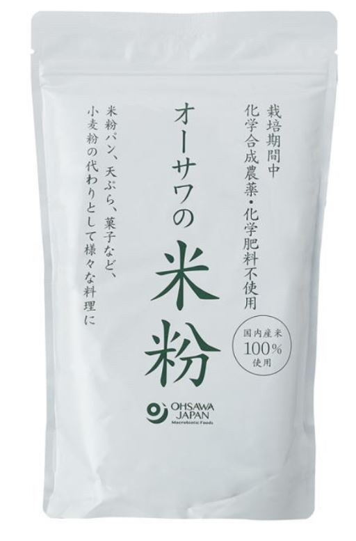 手数料無料 オーサワの国産米粉 オーサワの米粉 米粉 国産米100% グルテンフリー 小麦粉の代用品 化学肥料不使用 送料無料 農薬 直送商品 オーサワジャパン 500g×5個セット