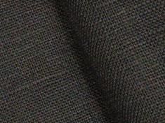 Linen plain weave plain fabric (graige, dark brown) made in Japan  F [order cut cloth 1m unit]