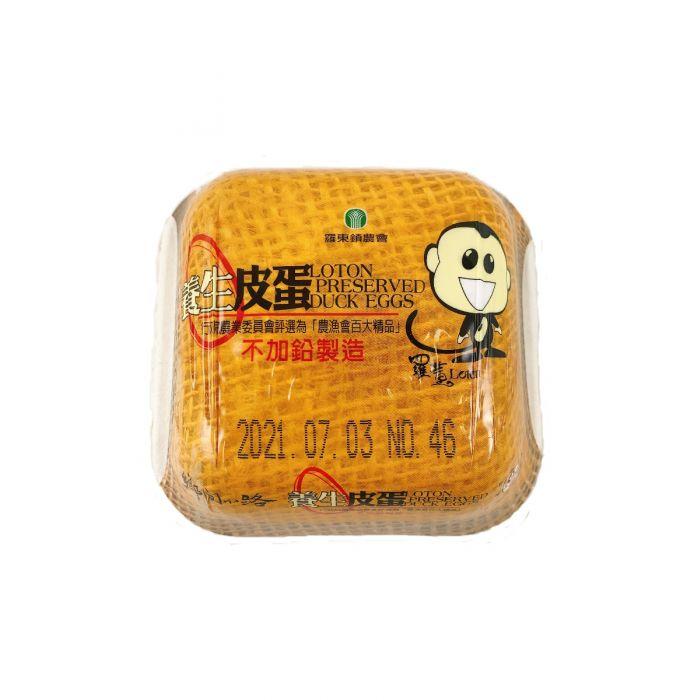 おいしい台湾風味おつまみ 台湾羅東鎮農協製造安心安全 台湾ピ-タン4個台湾皮蛋中華食材調味料中華料理人気商品台湾風味名産おつまみ 安心の定価販売 通信販売 7月下旬納品