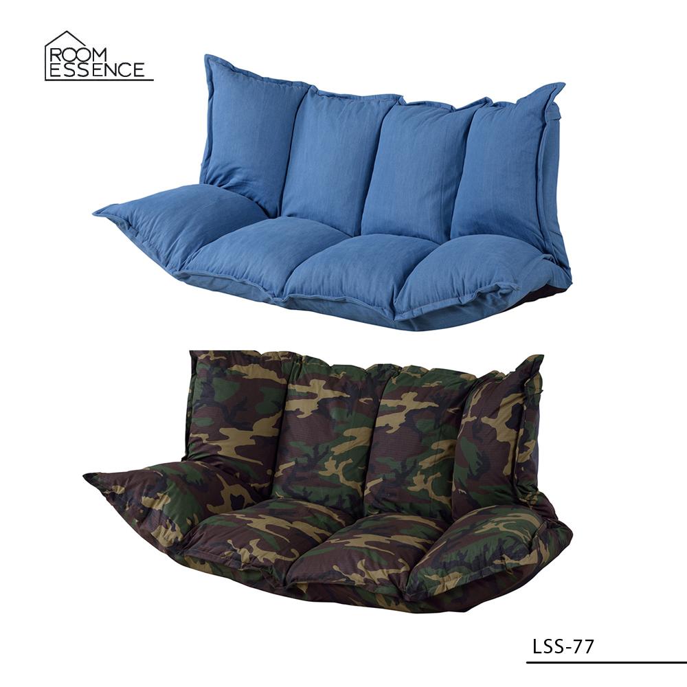 マルチソファ [LSS-77] ■ ソファー ベッド リクライニング 椅子 チェア おしゃれ アメリカン雑貨 【代引き不可】【東谷】