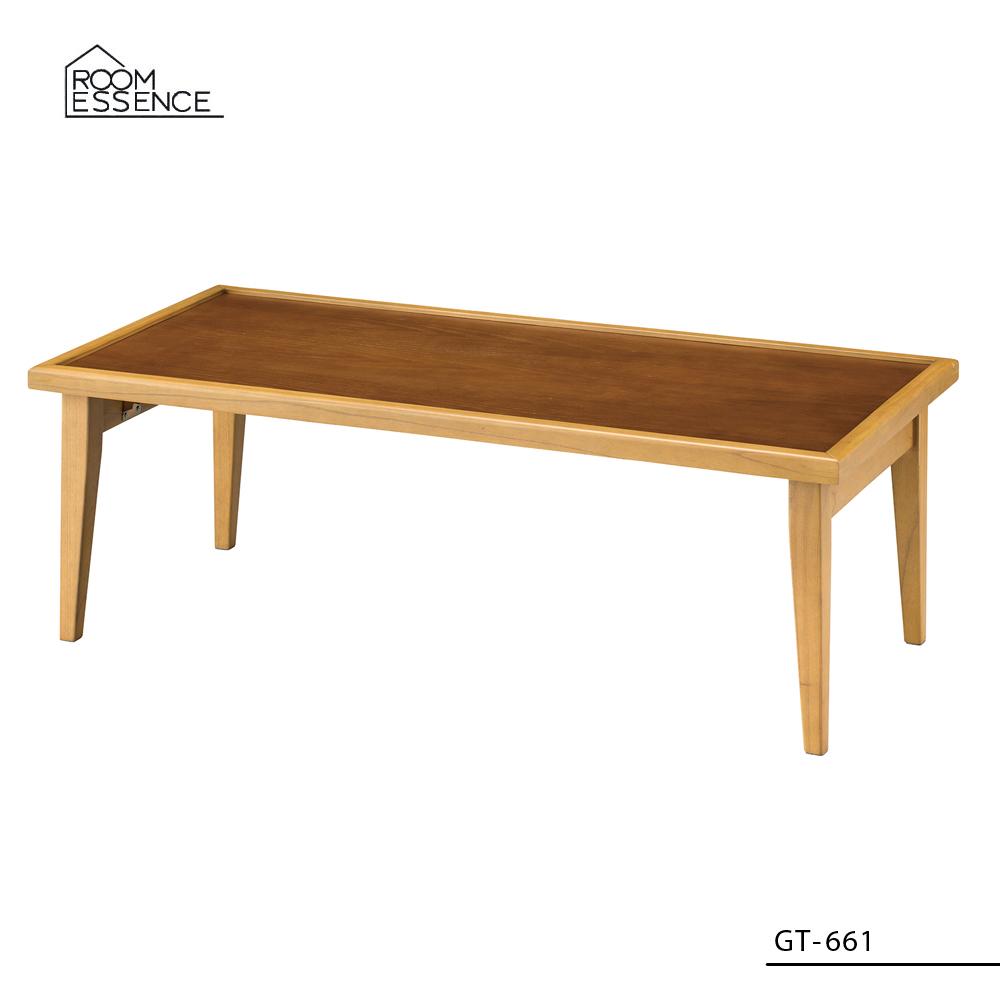 フォールディングテーブル [GT-661] ■ 折りたたみ 木製 ローテーブル リビング おしゃれ アメリカン雑貨 【代引き不可】【東谷】