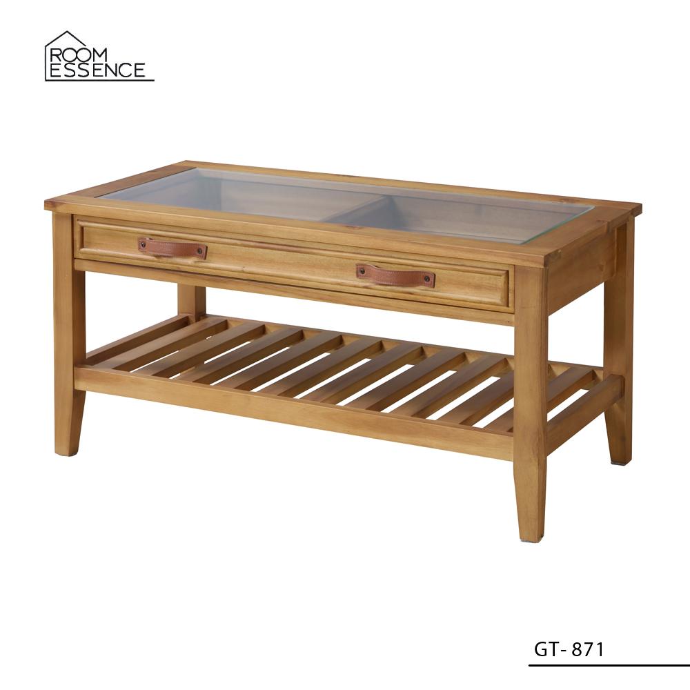 コレクションテーブル [GT-871] ■ 家具 リビング テーブル 収納 おしゃれ アメリカン雑貨 【代引き不可】【東谷】