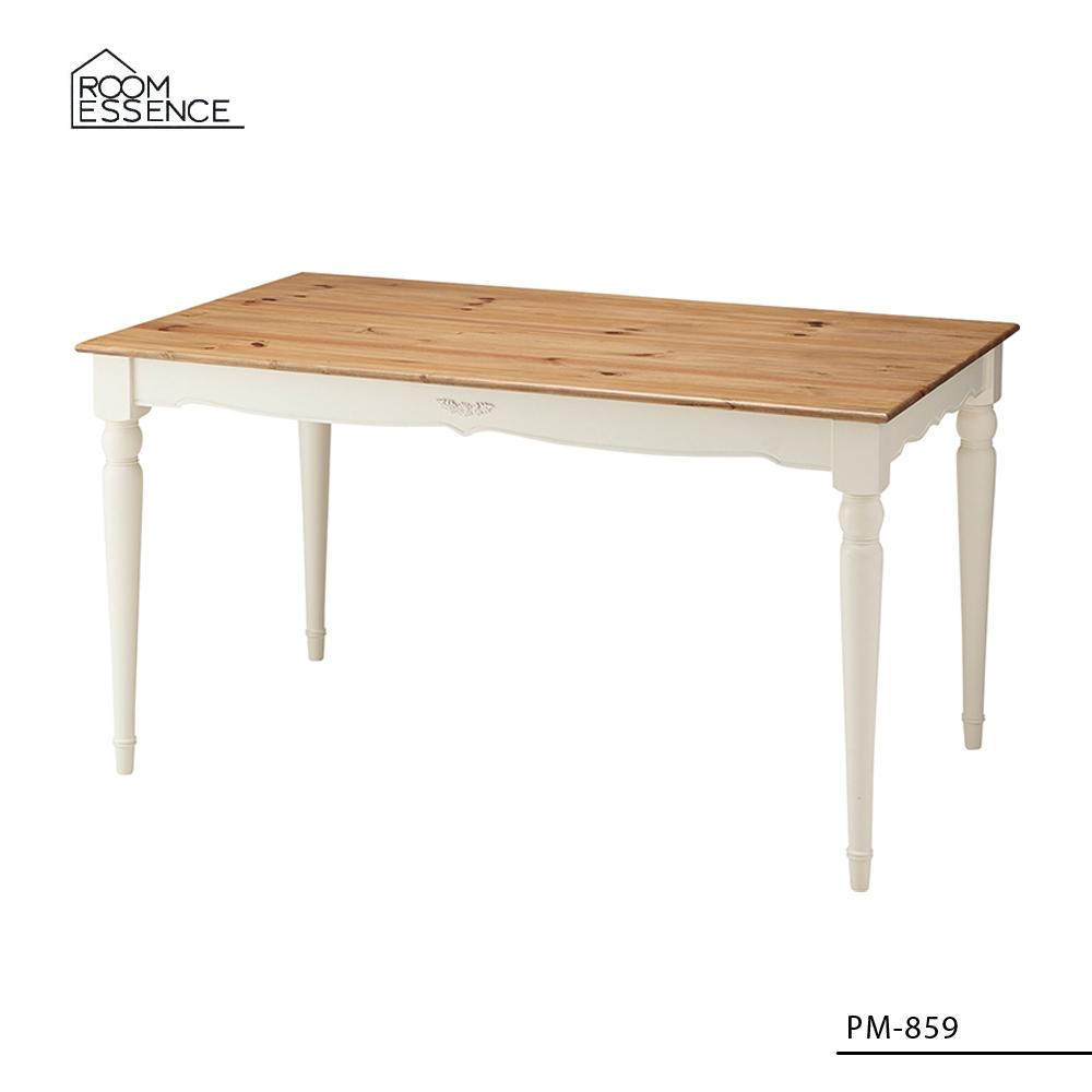 ビッキー ダイニングテーブル [PM-859] ■ 天然木 アンティーク 食卓テーブル おしゃれ アメリカン雑貨 【代引き不可】【東谷】