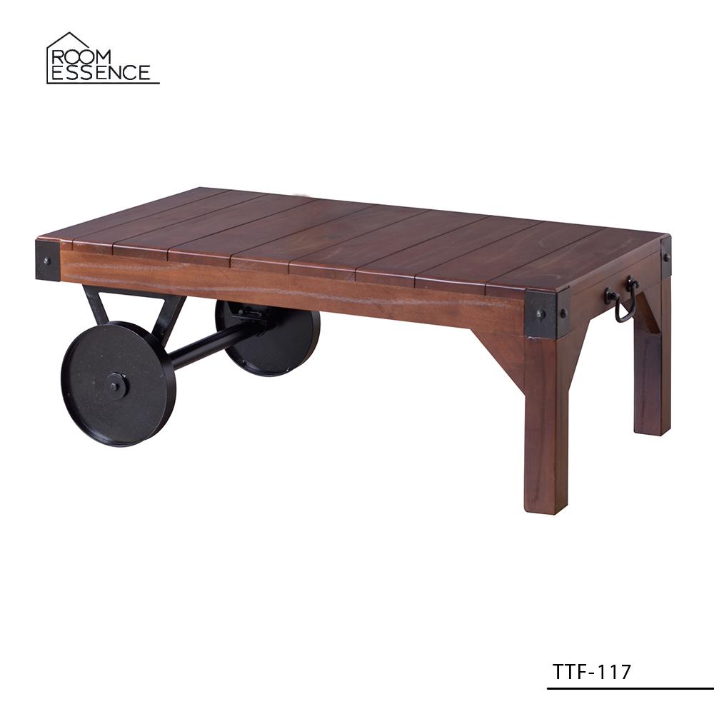 トロリー テーブルS [TTF-117] ■ センターテーブル ローテーブル おしゃれ アメリカン雑貨 【代引き不可】【東谷】