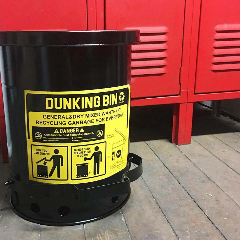 【ゴミ箱】ダンキングビン (23L) ■ ふた付き ごみ箱 23リットル ダストビン トラッシュカン アメリカン雑貨 【あす楽対応】