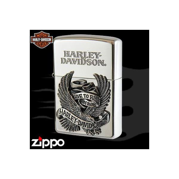 【Zippo】HARLEY-DAVIDSON ハーレーダビッドソン ビッグメタル [HDP-08] ■ ジッポー オイルライター アメリカン雑貨 【送料無料】