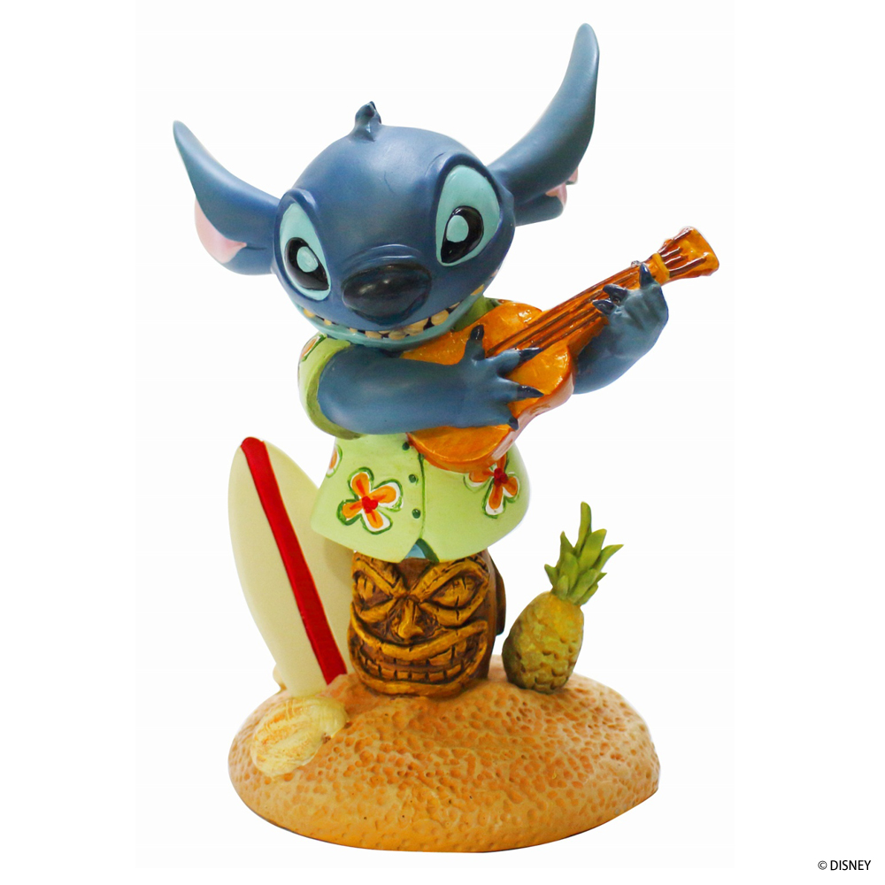 ディズニーフィギュア Disney スティッチウィズサーフボード [GJ4046189] ■ キャラクター 人形 置物 インテリア スティッチ Stitch 【代引き不可】【GRAND JESTER】