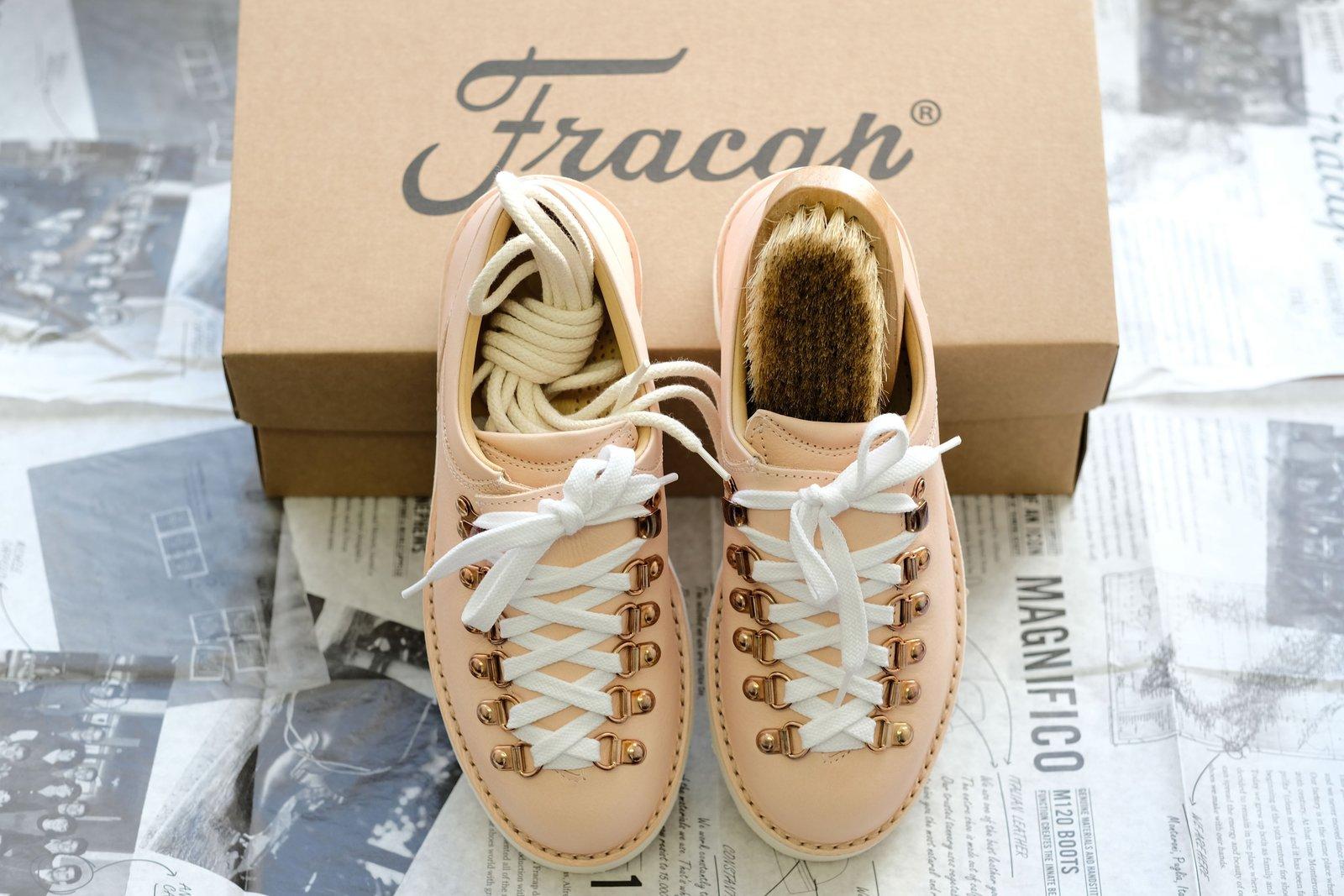 Fracap フラカップ M121 靴 シューズ メインローザ― レザー