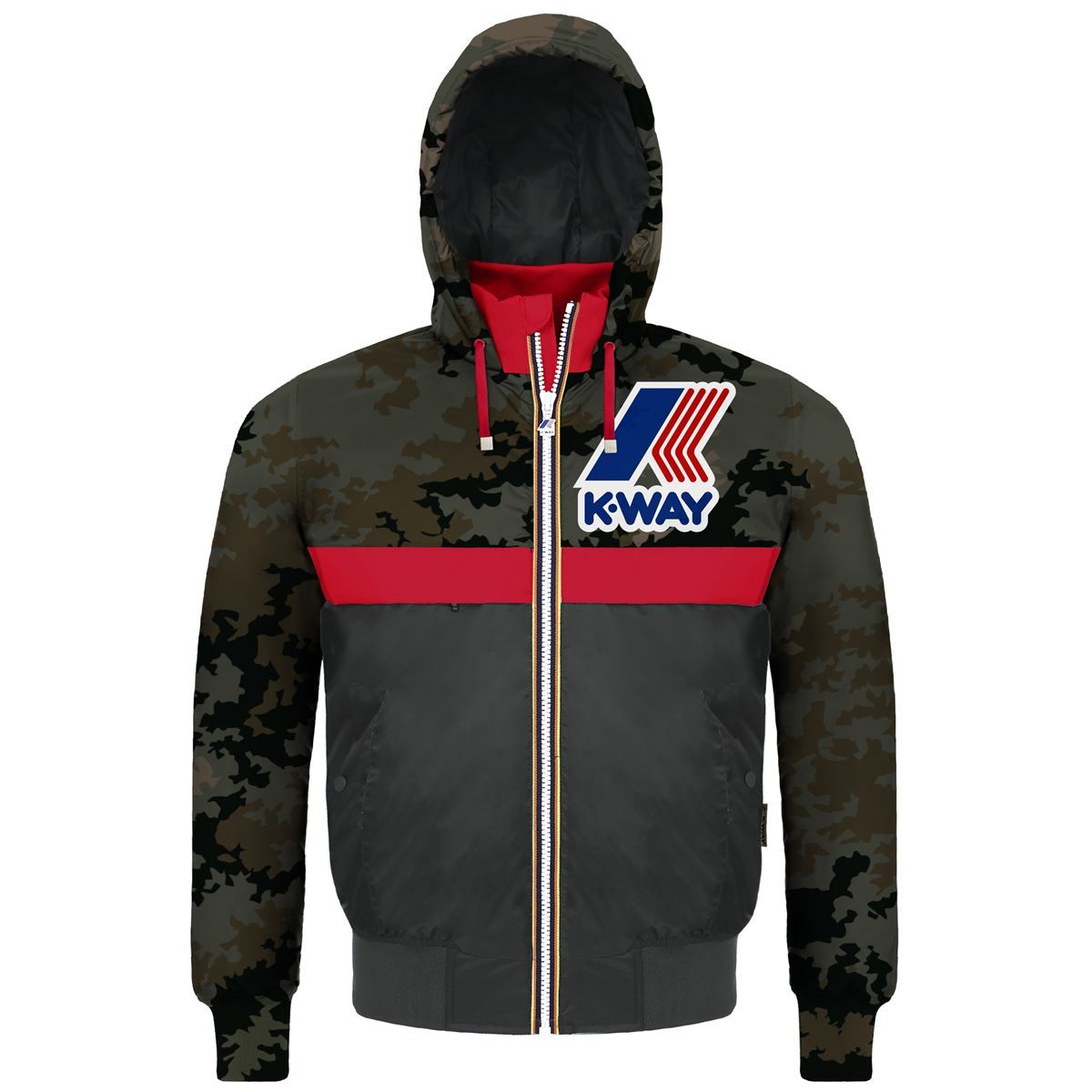K-Way Remix 145 Padded Graphic Jacket ジャケット