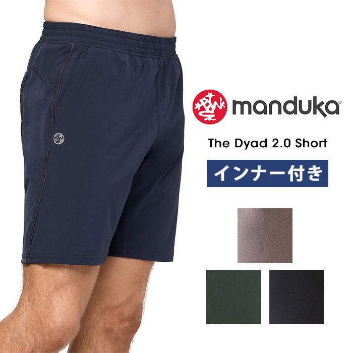 16a2ff181b Mens yoga wear ☆ Japan AE [Manduka] MEN'S dyad short (men's shorts) ...