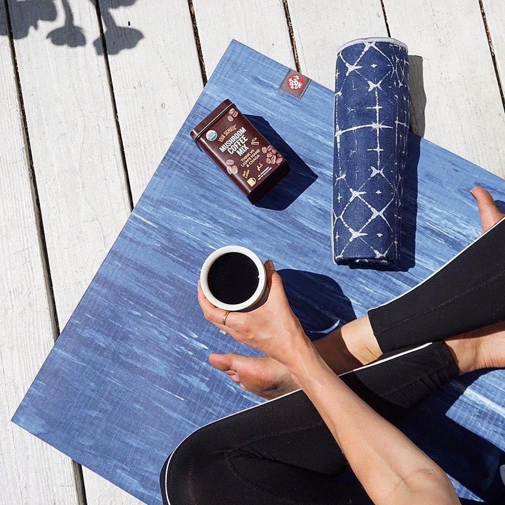 High Sky Yoga Rag Yoga Towel Yogitoes Skidless Mat