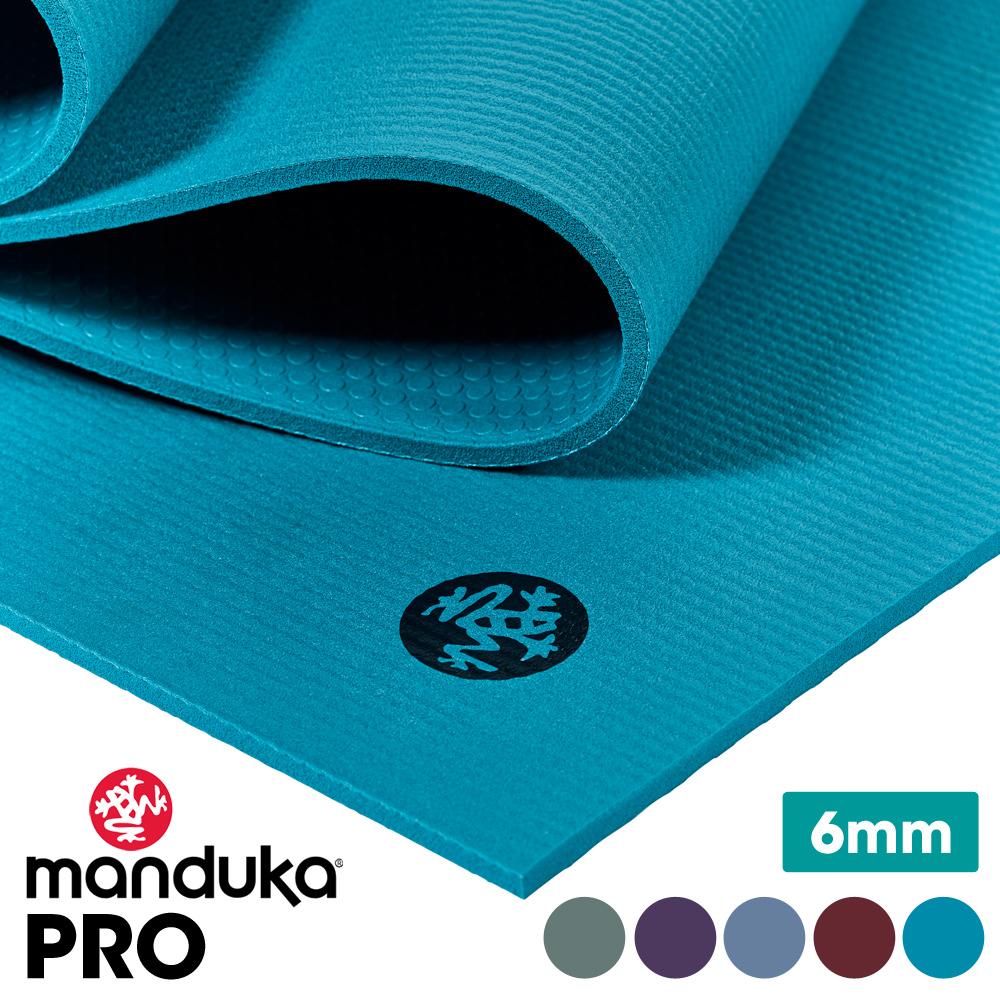 【送料無料】★日本正規品[Manduka] マンドゥカ プロヨガマット (約6mm)★19SS 1年保証付・ The PRO yoga mat ブラックマット《BM71》「TR」:【まとめ割チケットM対象】5PO[マットウォッシュ2割引] 《予》