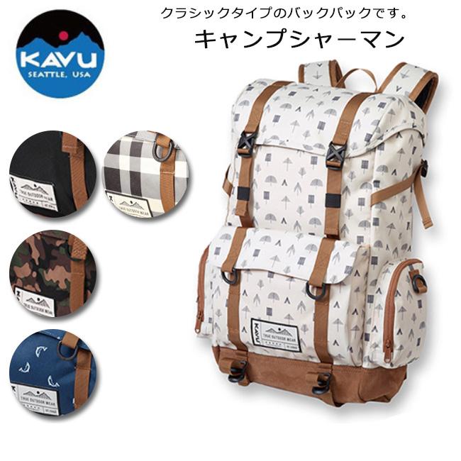 KAVU/カブー バックパック キャンプシャーマン 19810151【即日発送】