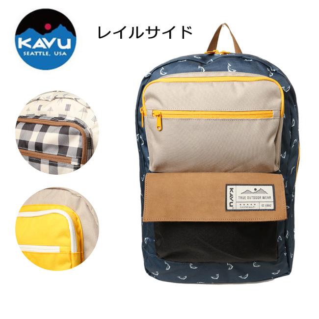KAVU/カブー バックパック レイルサイド 19810343【即日発送】