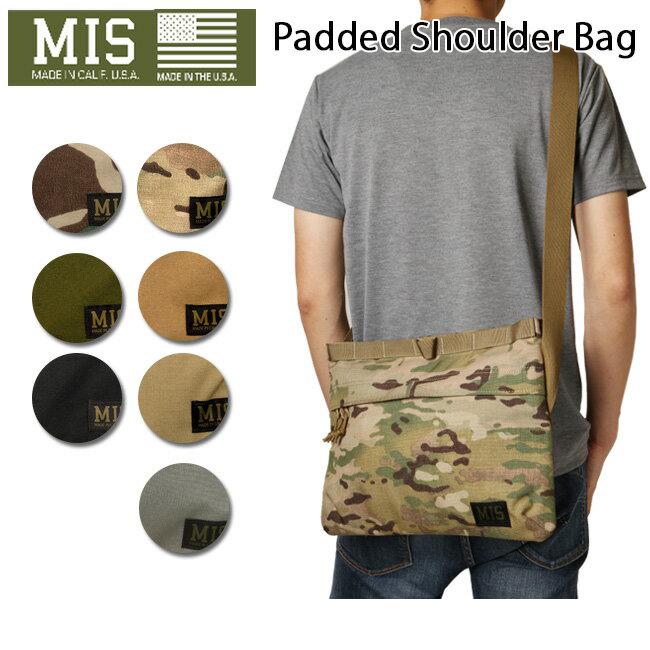 ● 【MIS/エムアイエス】 ショルダーバック Padded Shoulder MIS-1003 お買い得