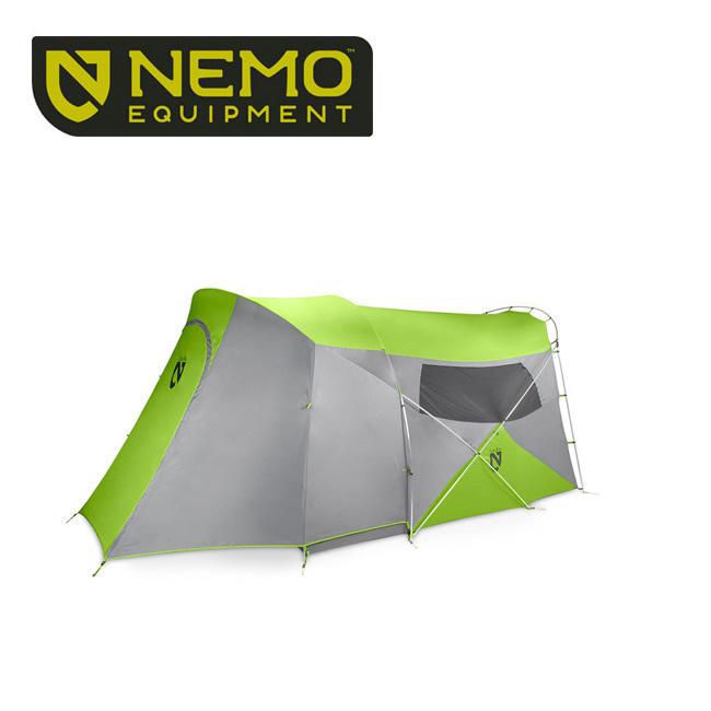 【NEMO Equipment/ニーモ・イクイップメント】 テント ワゴントップ6P グリーン NM-WGT-6P-GN 【TENTARP】【TENT】 お買い得!【即日発送】