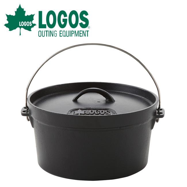 ● 【ロゴス/LOGOS】 SLダッチオーブン10inch・ディープ(バッグ付き)/81062229【LG-COOK】 お買い得