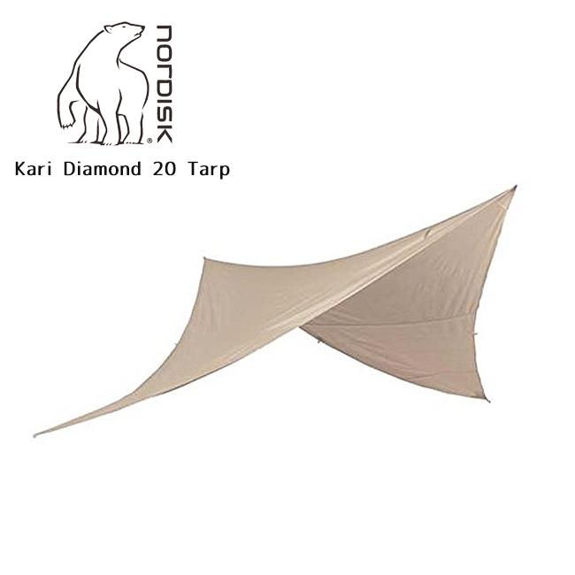 【カード限定ポイント最大10倍 4/9 20時~】NORDISK ノルディスク Kari Diamond 20 Tarp 142009 【防水シート/タープ/アウトドア/キャンプ】NORDISK ノルディスク Kari Diamond 20 Tarp 142009 【防水シート/タープ/アウトドア/キャンプ】