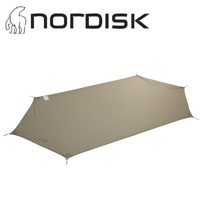 NORDISK ノルディスク Ydun Mini Footprint (ユドゥンミニ用フットプリント) 148070 【フットプリント/テントマット/キャンプ /アウトドア】