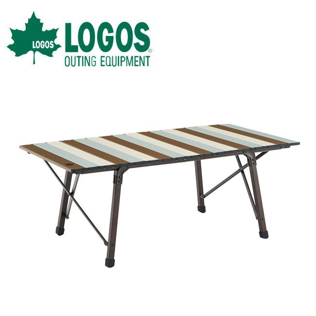 LOGOS ロゴス LOGOS Life コンパクトローテーブル 10050(ヴィンテージ) 73185012 【ローテーブル/机/アウトドア/キャンプ】