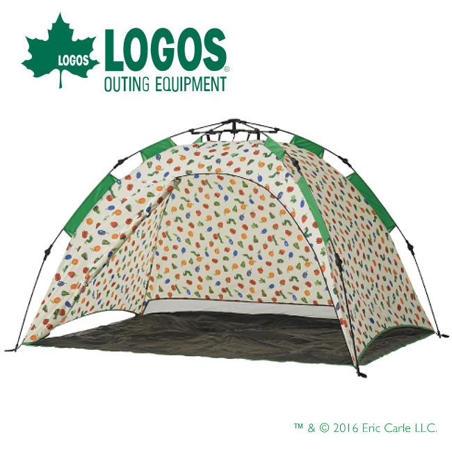 【カード限定ポイント最大10倍 4/9 20時~】LOGOS ロゴス はらぺこあおむし Q-TOP フルシェード 86009001 【サンシェード/着替え/アウトドア/キャンプ】LOGOS ロゴス はらぺこあおむし Q-TOP フルシェード 86009001 【サンシェード/着替え/アウトドア/キャンプ】