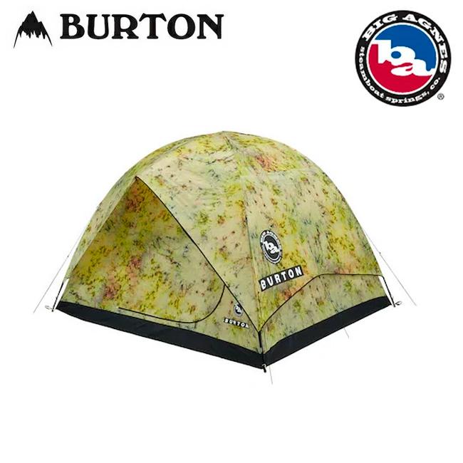 【エントリーでP10倍!7月21日20時~】BURTON バートン Big Agnes x Rabbit Ears 6 Tent 167021 【テント/アウトドア/キャンプ/6人用/3シーズン/防水コーティング】