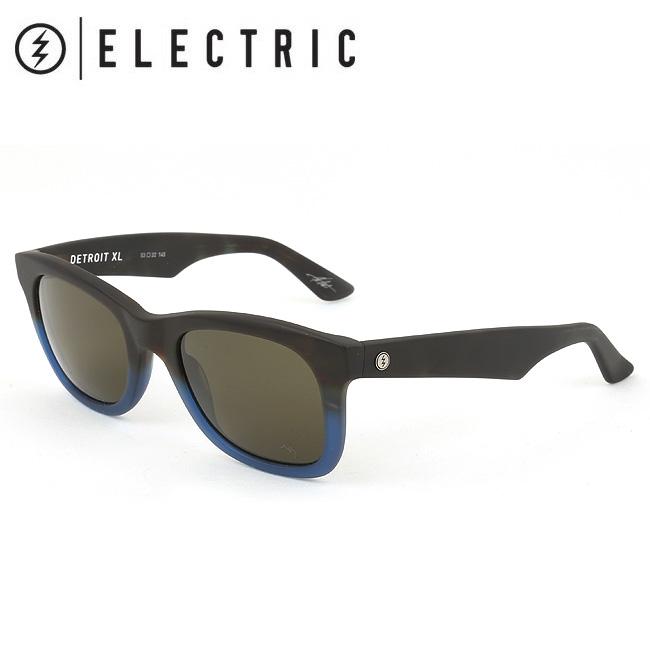 ELECTRIC エレクトリック DETROIT XL MATTE 青 TORT DEX24 【日本正規品/サングラス/海/アウトドア/キャンプ/フェス/サーフィン/スノーボード】