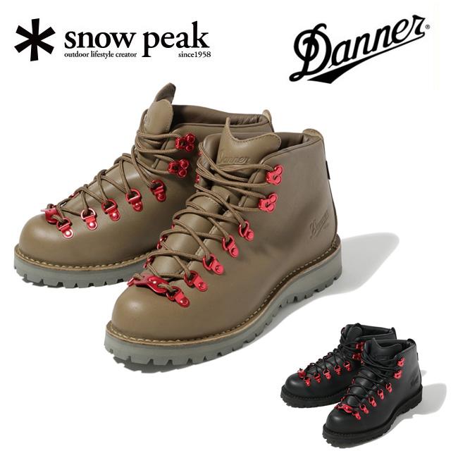 【エントリーでP10倍!7月21日20時~】snowpeak スノーピーク DANNER TRAIL FIELD SE-DN003 【靴/ブーツ/コラボ/アウトドア】
