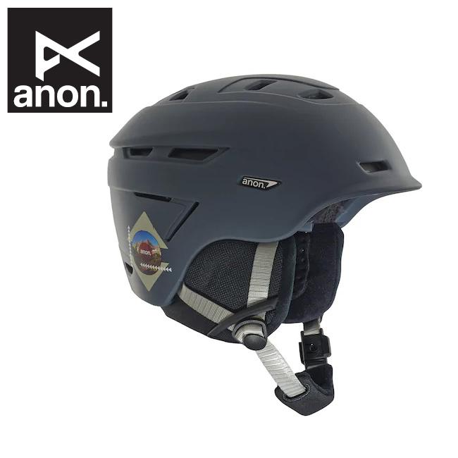 【期間限定エントリーでP10倍!8月4日20時から】2019 anon アノン Echo Helmet Rush Gray 185691 【日本正規品/ヘルメット/メンズ】