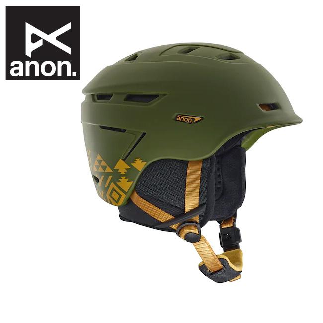 【期間限定カード決済で更に+P7倍10/4 20時~】2019 anon アノン Echo Helmet Native Green 185691 【日本正規品/ヘルメット/メンズ】
