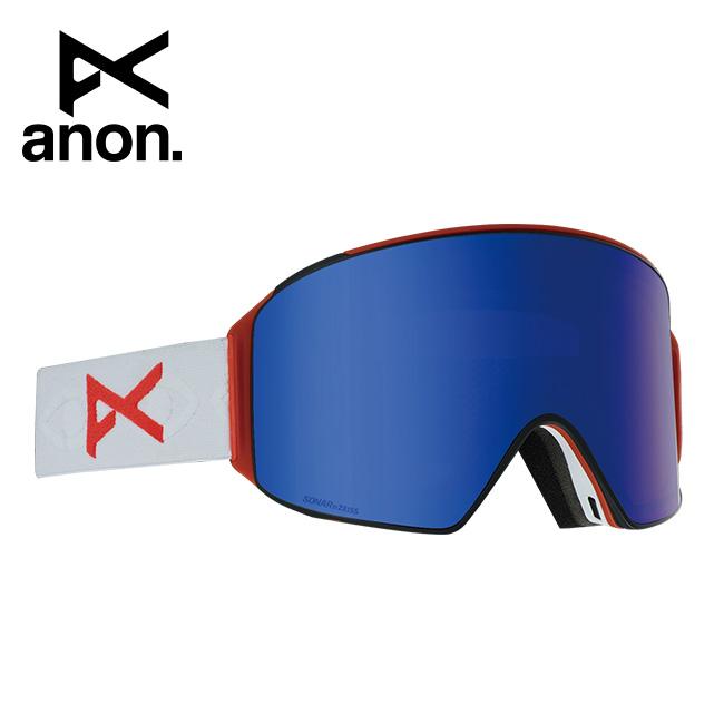 2020 anon アノン M4 Cylindrical Goggle Asian Fit With Bonus Lens /Eyes / SONAR Blue 203401 【スぺアレンズ/ゴーグル/日本正規品/メンズ】