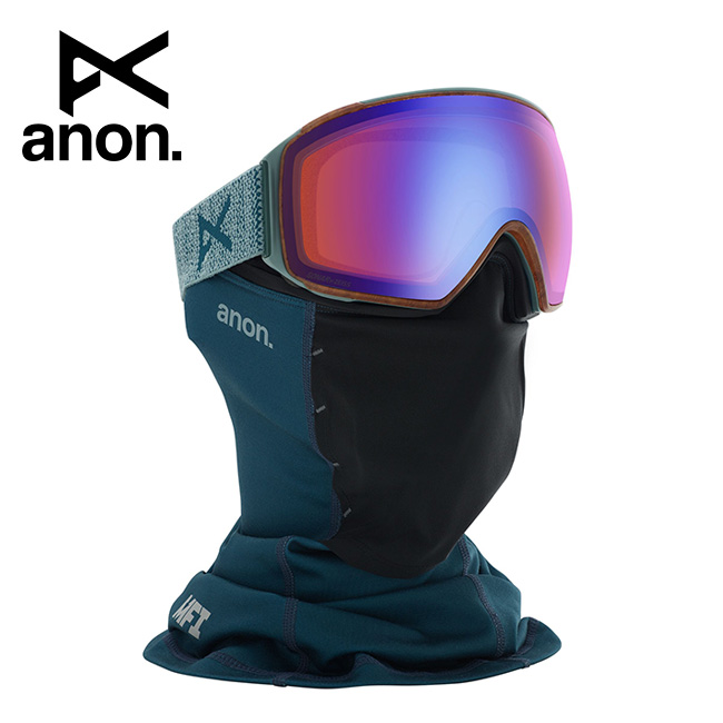 2020 anon アノン M4 Toric Goggle Asian Fit With Bonus Lens /Lay Back / SONAR Blue 203411 【スぺアレンズ/ゴーグル/日本正規品/メンズ】