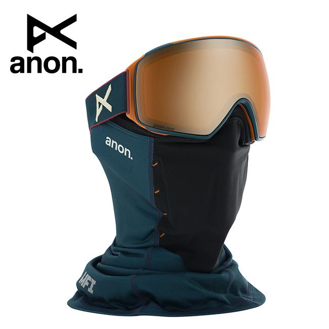 2020 anon アノン M4 Toric Goggle Asian Fit With Bonus Lens /Royal / SONAR Bronze 203411 【スぺアレンズ/ゴーグル/日本正規品/メンズ】