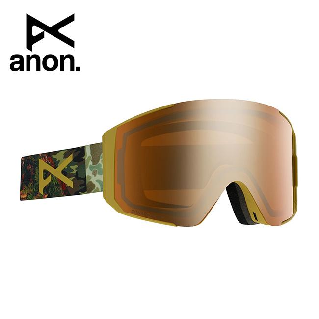 【スマホエントリー限定 P10倍 9月1日9:59まで】● 2020 anon アノン Men's Sync Goggle Asian Fit With Bonus Lens /Camo / SONAR Bronze 215081 【スぺアレンズ/ゴーグル/日本正規品/メンズ】