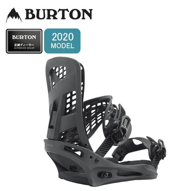 2020 BURTON バートン Genesis X Re:Flex Snowboard Binding ジェネシス リフレックススノーボードビンディング 169101 【バインディング/スノーボード/日本正規品/メンズ】