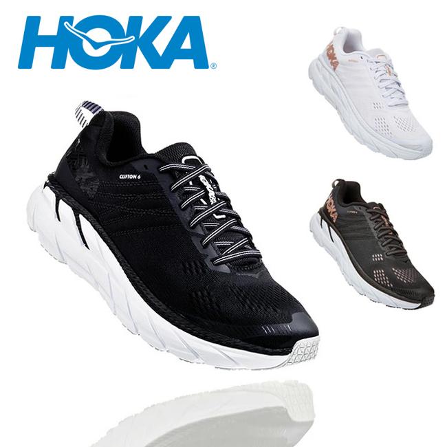 HOKA ONE ONE ホカオネオネ CLIFTON 6 クリフトン 6 1102873 【スニーカー/靴/レディース/アウトドア】