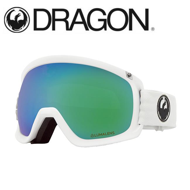 【期間限定カード決済で更に+P7倍10/4 20時~】DRAGON ドラゴン D3 WHITE/LUMALENS J. GREEN ION 【2020/ゴーグル/日本正規品/ジャパンフィット】