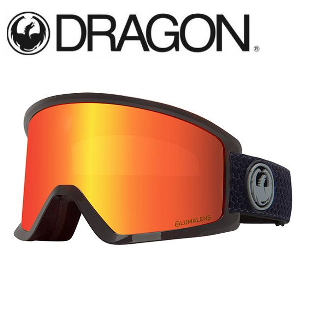 【期間限定カード決済で更に+P7倍10/4 20時~】DRAGON ドラゴン DX3 SPLIT GREY/LUMALENS J. RED ION 【2020/ゴーグル/日本正規品/ジャパンフィット】