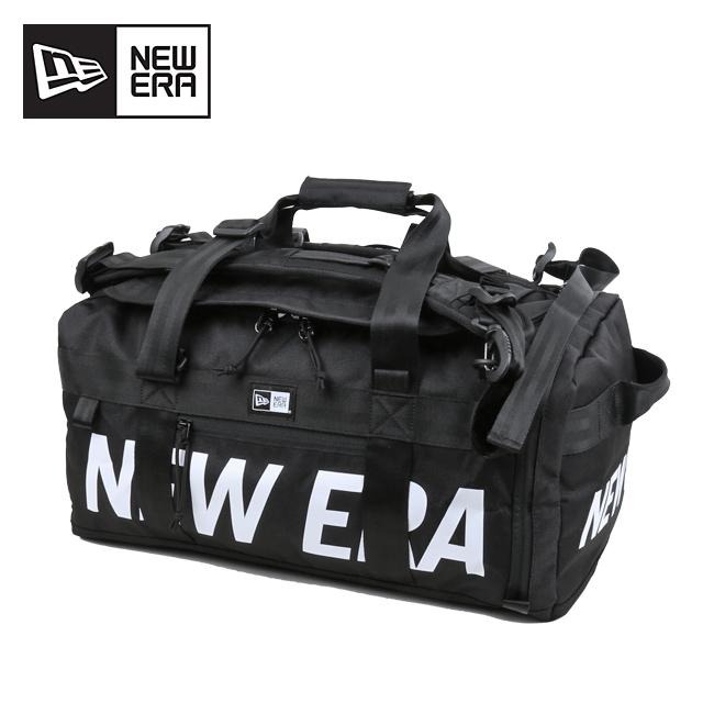 NEWERA ニューエラ クラブダッフルバッグ 35L ブラック×ホワイト 12108751 【ボストンバッグ/旅行/スポーツ/アウトドア】