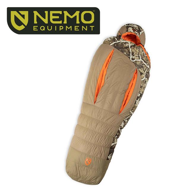 NEMO Equipment ニーモ・イクイップメント STALKER 0 スターカー NM-STK-0-F 【寝袋/シュラフ/アウトドア/キャンプ】